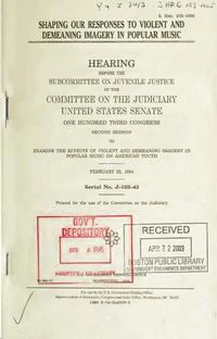 Congressional Hearings – 1a Info für lau (1)