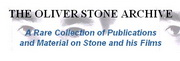 The Oliver Stone Archive