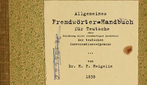 Meister Proper der teutschen Sprache (2)